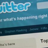Hackere angreb tirsdag Twitter og skabte frygt hos brugerne. Foto: Nicholas Kamm, AFP/Scanpix