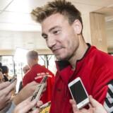 Mike Jensen lovpriser Nicklas Bendtners form i Rosenborg. Han er klubbens største stjerne, siger Jensen.
