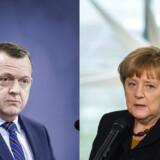 Lars Løkke er ikke så villig til at lægge sig ud med Tyskland, som Sverige var det med Danmark.
