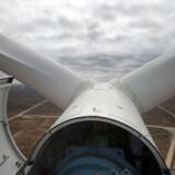 Dansk-tyske Siemens Wind Power kan snart være på vej med en ordre af de helt store i Marokko, hvor vindmøllefabrikanten så sent som torsdag offentliggjorde planer om at bygge en vingefabrik. AFP PHOTO / RODGER BOSCH