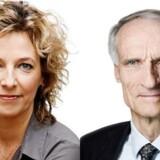 Venstres Bertel Haarder og undervisningsminister Christine Antorini fra S ønsker folkeskolen tillykke med undervisningspligtens 200 års fødselsdag.
