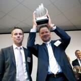 For to år siden blev det virksomheden Monjasa fra Fredericia, der løb med titlen som Entrepreneur of the Year i Danmark. Virksomheden handler med bunkeroil, altså brændstof til skibe, og var på skrap vækstkurs, da det i 2012 blev hædret med prisen.