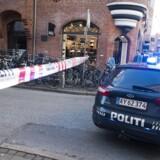 Antonigade, politiafspærring i forbindelse med røveri i Illum