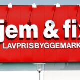 JEM og FIX byggemarked.
