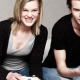Nu er der godt nok i alt 20 millioner brugere af Xbox, der mødes med andre spilinteresserede over nettet. Modelfoto: Colourbox