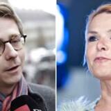 Karsten Lauritzen (V) og Inger Støjberg (V) er i denne uge kommet med kontroversielle meldinger om udlændinge.