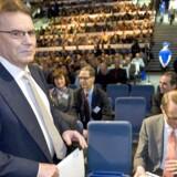 Nokias topchef, Olli-Pekka Kallasvuo, går af om to uger. Foto: Mauri Ratilainen, EPA/Scanpix