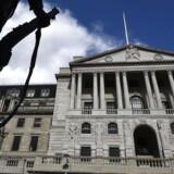 Arkivfoto: Bank of England, London, England.