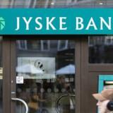 Jyske Bank balancerer på stregen, da banken både skal følge loven og har et samfundsansvar, siger skatteeksperter. (Foto: Jens Nørgaard Larsen/Scanpix 2012)
