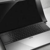 Den er godt nok anderledes. Asus og Bang & Olufsen står i fællesskab bag denne nye bærbare computer. Foto: Asus