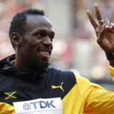 Usain Bolt skal lørdag løbe sine sidste løb på topplan.