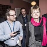 Miljø- og Fødevarerminister Eva Kjer Hansen kort efter samrådet i Miljø- og fødevarerudvalget onsdag d. 24. februar 2016.