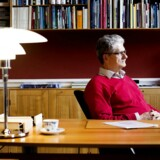 Mogens Lykketoft på sit kontor i Folketinget.