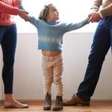 MODELFOTO: Børnene kommer ofte slemt i klemme, når mor og far bliver skilt.