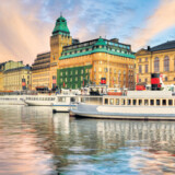 Stockholms skyline.