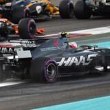 Danskeren regner med, at han beskadigede sin Haas-racer, da han kørte af banen på første omgang.