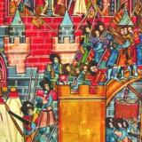 Erobringen af Jerusalem i 1099.