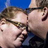 Pernille Lyster ønsker at få børn, men har svært ved at få hjælp på Holbæk fertilitetsklinik. Her med sin forlovede Lars Christensen.
