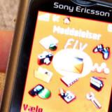 Trods populariteten blandt de unge i Norden mister Sony Ericsson markedsandele. Foto: Brian Bergmann/Scanpix