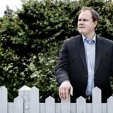 ARKIV:Folketingsvalg2015. Søndag d. 14. juni 2015 deltog Dansk Folkepartis Martin Henriksen i et debatmøde på Flyvergrillen på Amgaer. (Foto: Bax Lindhardt/Scanpix 2015)
