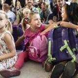 Første skoledag med den nye skolereform. 0. klasse på Skolen ved Søerne på Frederiksberg er klar.