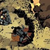Tegneserien »Guld og blod« genopliver det bedste fra 1900-tallets franskbelgiske tegneserietradition.