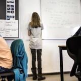 Arkivfoto. En stor undersøgelse fra Cepos viser, at stærke elever ikke trækker de svage med op, sådan som man ellers har troet i årtier.