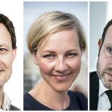 Foto: Sophia Juliane Lydolph, Søren Bidstrup og Linda Kastrup.