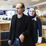 Det syriske ægtepar Rania og Osama er i praktik i Grundfos' finansafdeling i Bjerringbro.