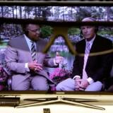 Det bliver skærme fra 40 tommer og opefter, der får 3D-funktion - og det kræver fortsat briller at kikke med og få folk og ting ud i stuen. Foto: Chip Somodevilla, AFP/Scanpix