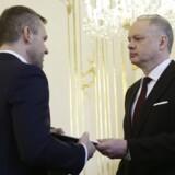Slovakiet har fået en ny premierminister. Reuters/David W Cerny