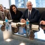Den på daværende tidspunkt kommende præsident Trump havde 14. december kaldt en række af de vigtigste techvirksomheder til møde i New York.