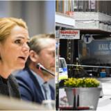 H: Inger Støjberg (V) (Ólafur Steinar Gestsson (Scanpix)) | H: Terrorangrebet i Stockholm den 7. april 2017 (JONATHAN NACKSTRAND (AFP Photo))