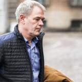 Jens Møller Jensen, chef for afdelingen for personfarlig kriminalitet, ankommer til Københavns Byret. Afdelingschefen beklager i dag, at politiet glemte en sagsmappe med fotografier i Peter Madsens værksted i forbindelse med efterforskningen.
