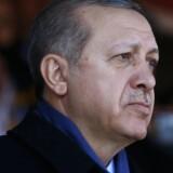 Den tyrkiske præsident, Tayyip Erdogan.