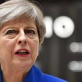 Arkivfoto. Theresa May. AFP Photo /