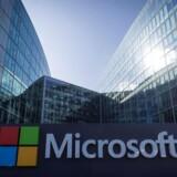 Microsoft undersøger nu, om der kom russiskbetalte annoncer på bl.a. søgemaskinen Bing i forbindelse med det amerikanske præsidentvalg i november 2016. Arkivfoto: Lionel Bonaventure, AFP/Scanpix
