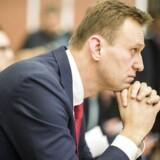 Alexei Navalny forbydes af de russiske myndigheder at stille op som præsident.