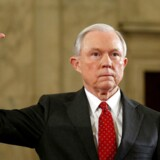 Arkivfoto: USAs justitsminister Jeff Sessions. REUTERS/Kevin Lamarque/File Photo