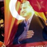 Lørdagens demonstration mod Hollands beslutning om, at nægte flere tyrkiske ministere adgang til landet.