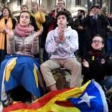 Aldrig, siden selvstyret blev genindført i 1980, har et fuldtonet spansksindet parti været blot i nærheden af blive det største i den egenrådige region. / AFP PHOTO / LLUIS GENE