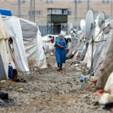 En flygtningelejr i Gaziantep. REUTERS/Umit Bektas