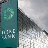 Arkivfoto. Silkeborg-banken Jyske Bank har skrinlagt planerne om at bygge et højhus på 12 etager i et erhvervsområde i den nordlige del af Silkeborg.