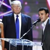 Den russisk-aserbajdsjanske popsanger Emin Agalarov, en ven af Donald Trump, er blevet et omdrejningpunkt i skandalen, der indhyller præsidenten, hans ældste søn og hans kampagnestab. REUTERS/Steve Marcus