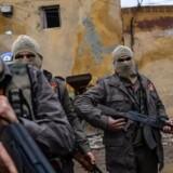 Tyrkisk støttede millitser i Syrien.