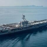 Det amerikanske hangarskip USS Carl Vinson er blevet sendt afsted til Nordkorea for at afskrække Kim Jong-un og det nordkoreanske styre fra at afprøve yderligere missiler eller atomvåben.