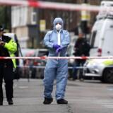 London har den seneste tid været plaget af skudepisoder. For en måned siden blev en 17-årig pige skudt og dræbt foran sit hjem. Arkivfoto.