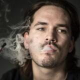 Ny forskning tyder på brug af e-cigaretter kan øge kræftrisiko, og forskere sætter langvarigt forsøg i gang. Det skriver Ritzau, mandag den 29. januar 2018.. (Foto: Ida Guldbæk Arentsen/Scanpix 2018)