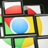 Googles internetbrowser, Chrome, vil i sin nye version automatisk blokere for påtrængende annoncer. Arkivfoto: Kimifiro Hoshino, AFP/Scanpix