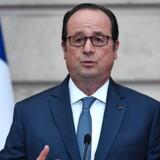 Interviewbogen om Francois Hollande ligger højt på bestsellerlisterne. Foto: Stephane De Sakutin